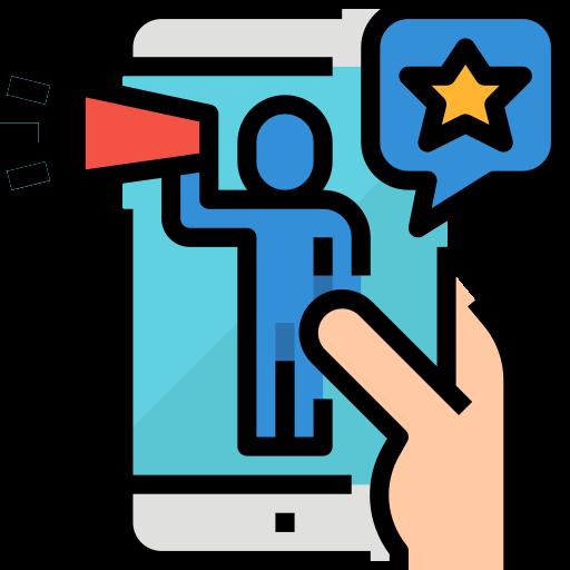 influencer marketing icon